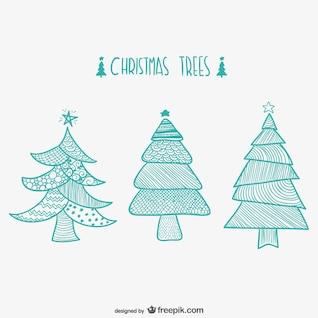 Arbres de Noël dessins