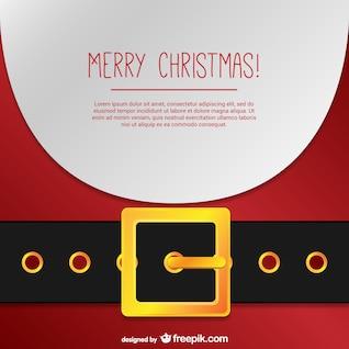Carte du Père Noël