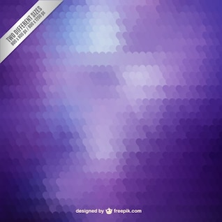 Mosaïque de fond Violet