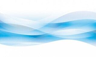 Vagues bleues fond abstrait comme de l'eau