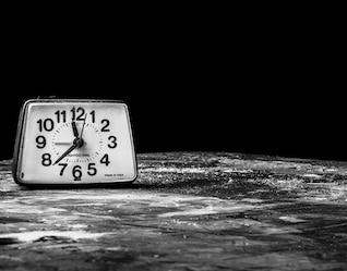 Horloge solitaire
