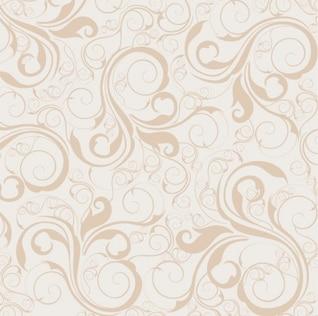 Motif floral vecteur de fond seamless set