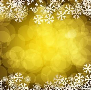 Noël fond doré
