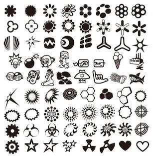dessin vectoriel éléments de collecte