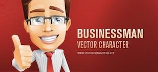 Caractère de vecteur d'affaires