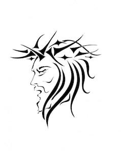Jésus christ vecteur d'image