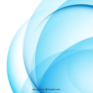 Abstract background dans les tons bleus