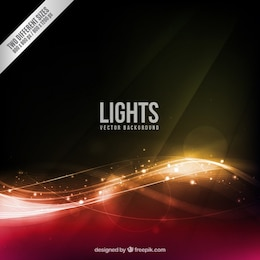 Abstract lights fond
