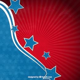 Abstrait américain fond de drapeau