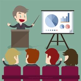 Affaires donnant une présentation