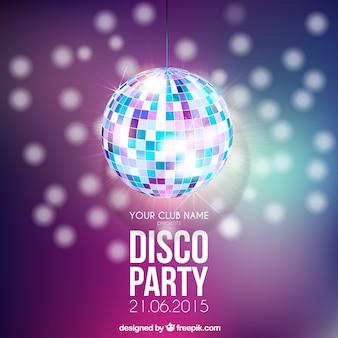 Affiche de Disco party