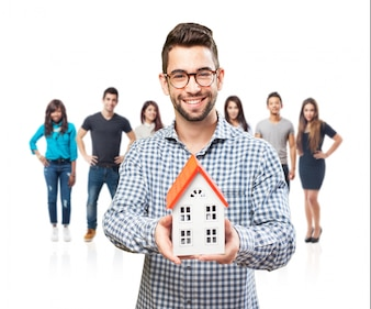 Agent immobilier vecteurs et photos gratuites for Com agent immobilier