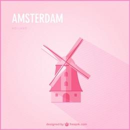 Amsterdam vecteur libre téléchargement