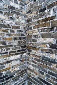 Ancien mur de briques, carte de fond