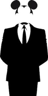 Anonymouse mickey de souris anonyme
