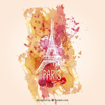 Aquarelle Paris