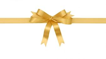 Archet cadeau en or