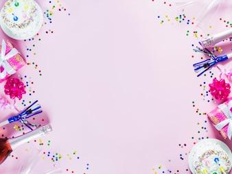 Asperges et décorations de fête
