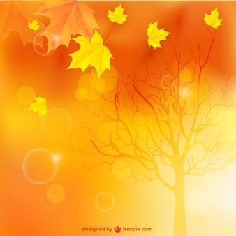 Paysage d'automne fond