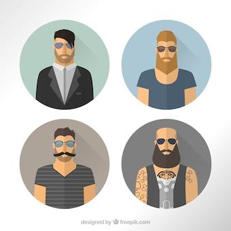 Avatars masculins