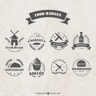 badges alimentaires