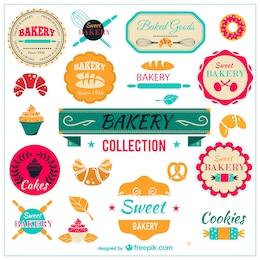 Badges de collecte de boulangerie