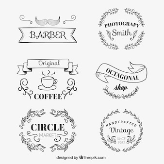 Badges de la boutique Sketchy