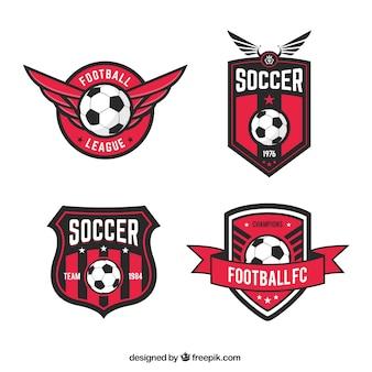 badges de la ligue de football