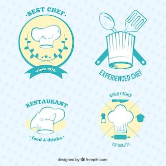 badges sur les restaurants