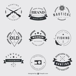Badges Vintage emballent