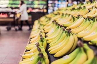 Bananes dans le marché