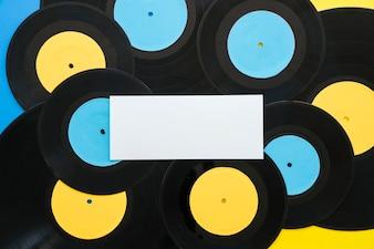 Bannière sur les vinyles