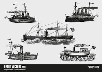 Bateaux à vapeur