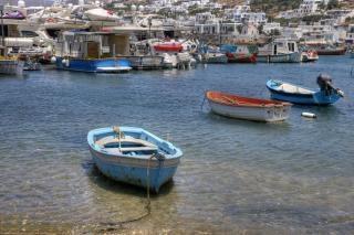 Bateaux de pêche communes