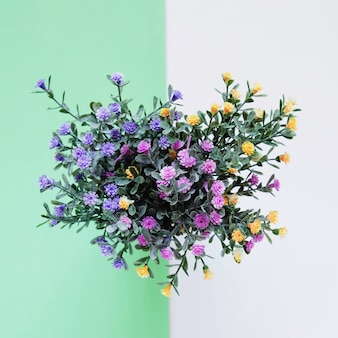 Fleuriste vecteurs et photos gratuites for Bouquet de fleurs vert et blanc