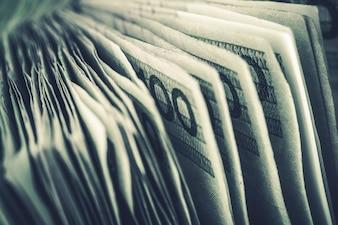 Beaucoup de billets de zloty polonais