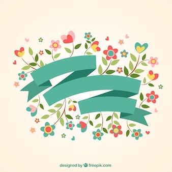 Belle bannière de printemps