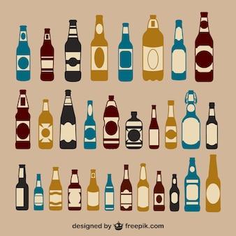 Pack de bouteilles de bière
