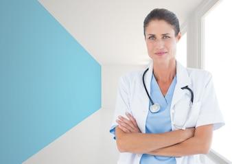 Belle connexion de développement numérique médicale