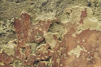 Belle texture Old Cracked Wall, Horizontal. Espace de copie. Espace libre pour le texte.