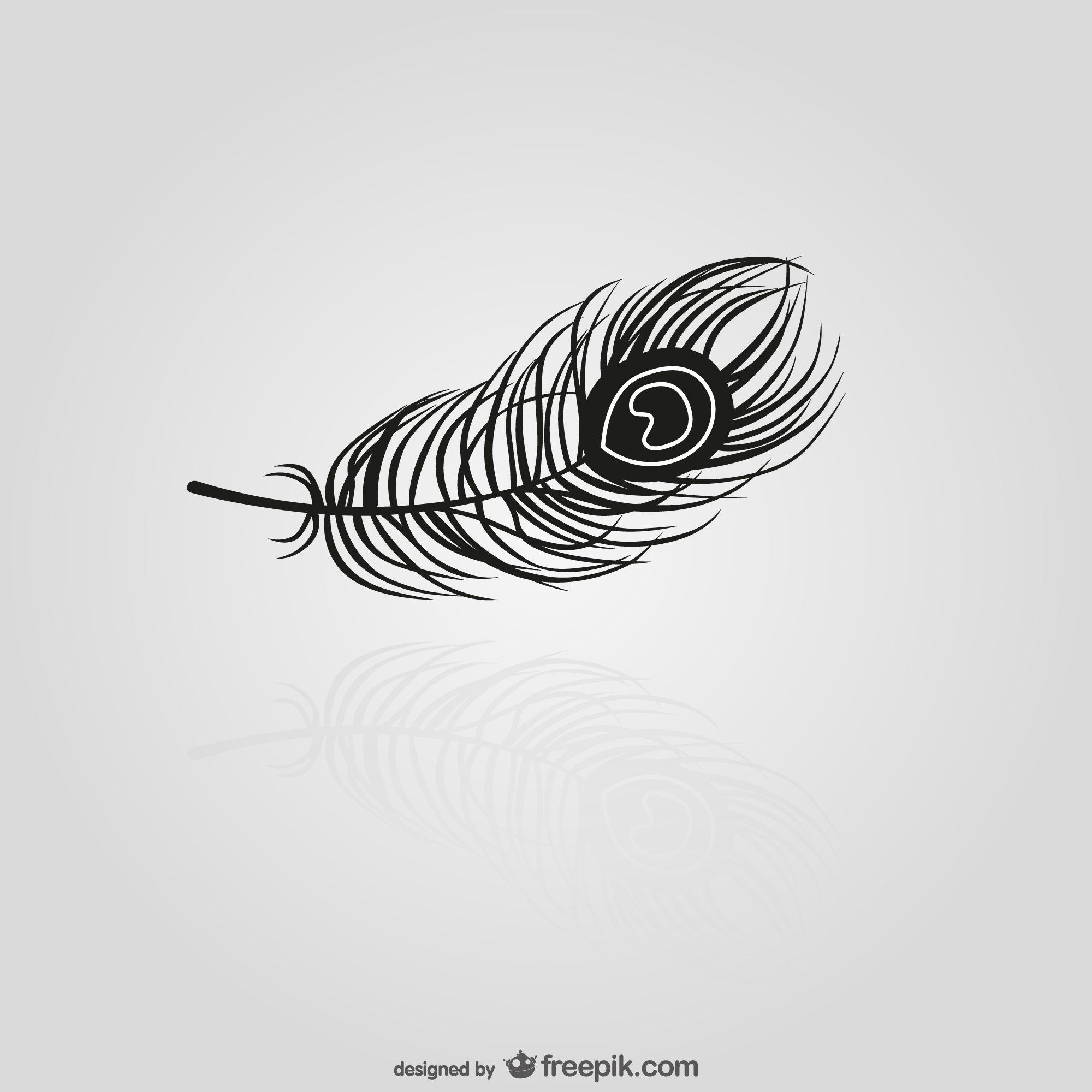 Black Feather silhouette