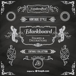 Blackboard cadres
