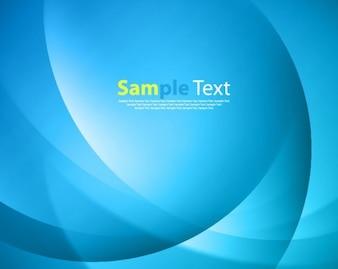 Lumière fond bleu avec le texte