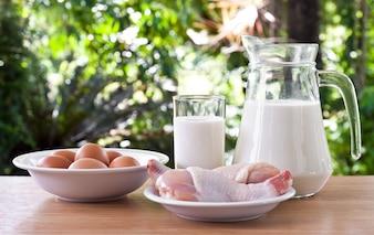 Boisson lactée graisse sain santé