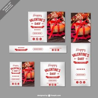 Bonne pack de Saint-Valentin