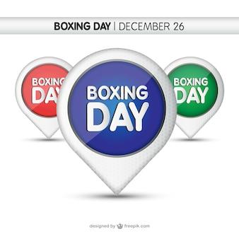 Boxe balises jours