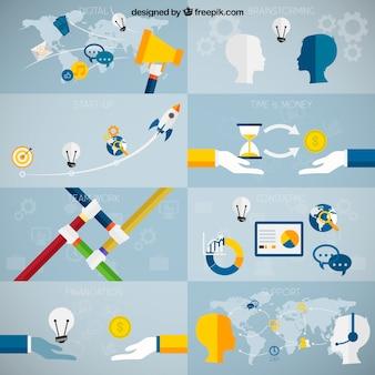 concepts d'affaires