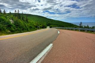 Cabot Trail Scenic Route hdr cape