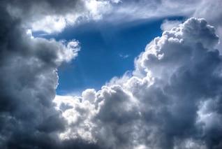 Cadre des nuages