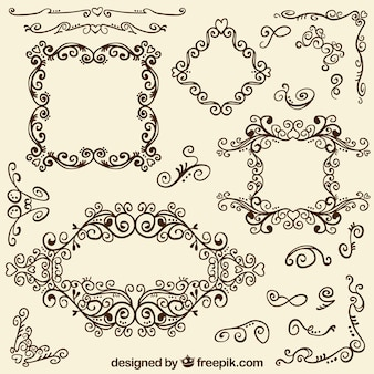 Cadres décoratifs et coins
